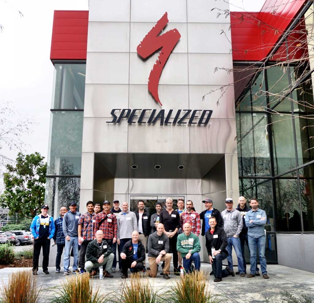 Visiting Specialized Bikes